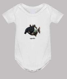 tapiranha! camiseta para niños