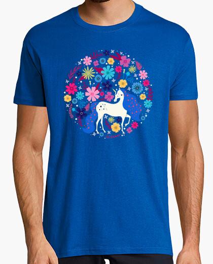 Camiseta tapiz de unicornio vintage