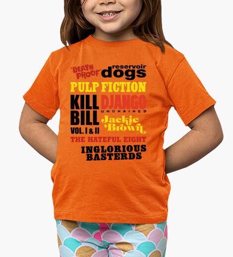 Ropa infantil Tarantino