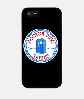 tardis caso iphone converse