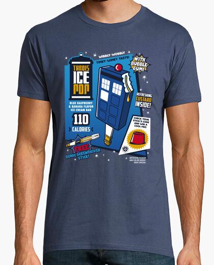 Tee-shirt Tardis Ice Pop