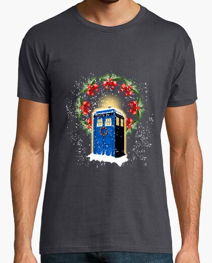 Camiseta tardis navidad