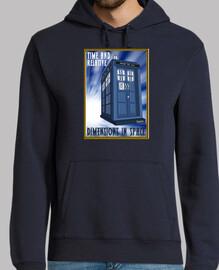 TARDIS (sudaderas chico y chica)