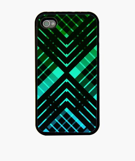 Funda iPhone tartán verde revisitado