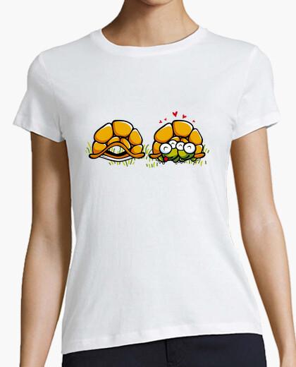 T-shirt Tartarughe innamorate