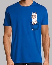 tasca alpaca carino - camicia da uomo