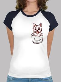 tasca west highland terrier - baseball womans