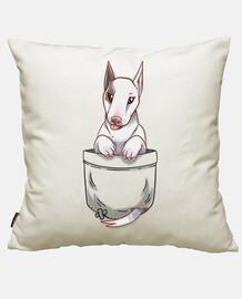 tascabile simpatico cane bull terrier
