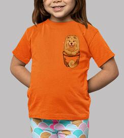 tasche niedlich chow chow - kinder shirt