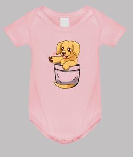 Tasche niedlichen goldenen Labrador