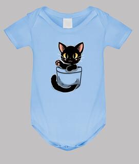 Tasche süße schwarze Katze