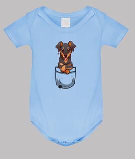 Tasche süßer Dobermann Hund