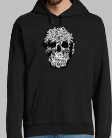 tatoo skull, t-shirts milky savoy