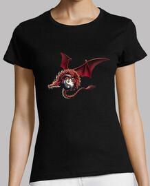 Tattoo dragon yin yang