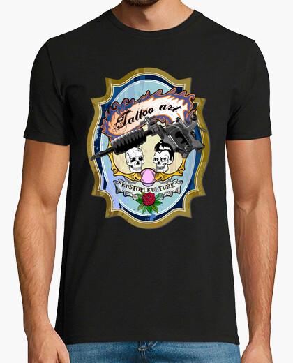 Camiseta Tattoo Kustom Kulture (H)