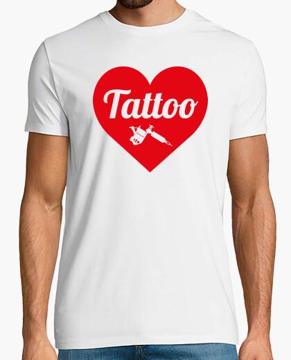 Tee-shirt Tattoo Love