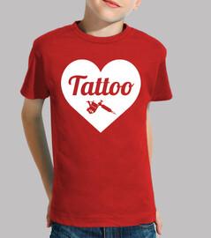 tattoo love white