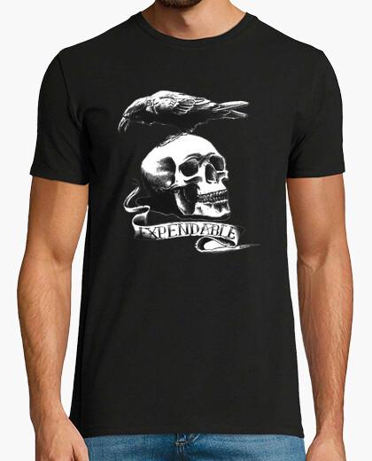 Camiseta Tatuaje Calavera - Los mercenarios - Exp