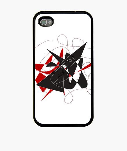 Coque iPhone taureau pris dans un fil de fer barbelé