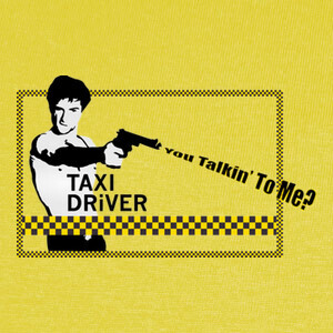 T-shirt Taxi Driver - You Talkin' To Me?