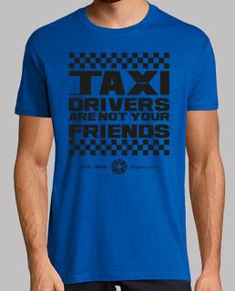 Taxi drivers man