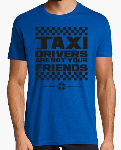 Taxi drivers man t-shirt