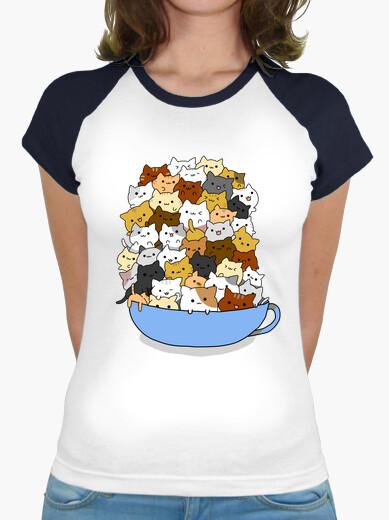 Camiseta Tazón de Gatos