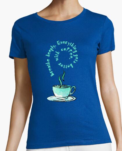 T-shirt tazza of coffee english