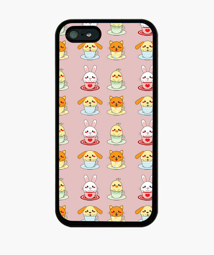 Cover iPhone tazze animali
