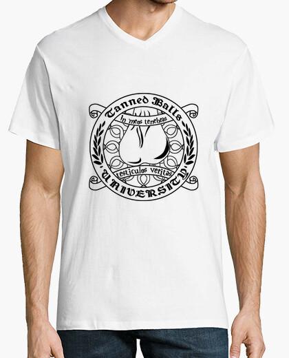 Camiseta TBU académico texto negro HMC