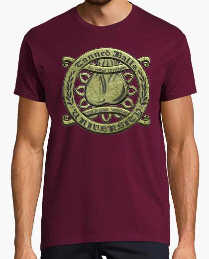 Camiseta TBU labrado texto negro HMC
