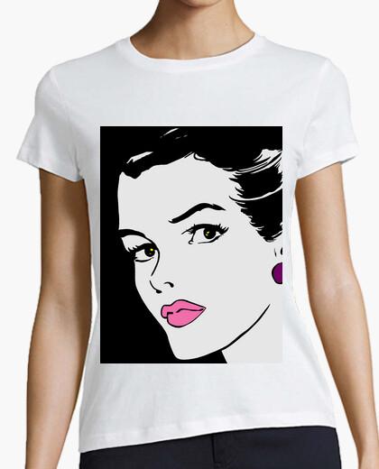 Tee-shirt td-pop femme