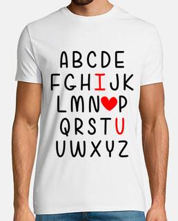 te amo alfabeto regalo de san valentin
