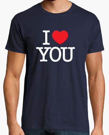 Camiseta te amo (blanco)