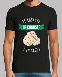 Te Casaste La Cagaste (Y lo Sabes) FONDO OSCURO