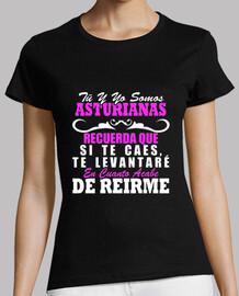 Te levantaré somos Asturianas