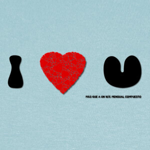 Camisetas Te Quiero - 10 mensual compuesto