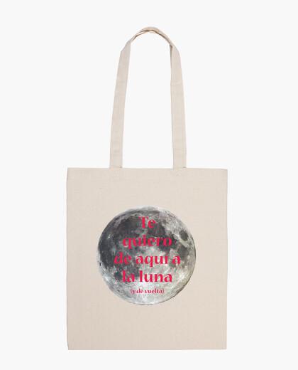 Bolsa Te quiero de aqui a la luna