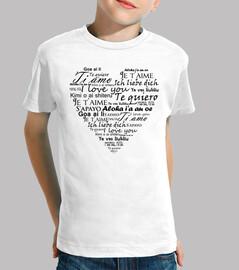 Te quiero en varios idiomas