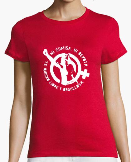 Camiseta Te quiero libre (blanco) - Chica