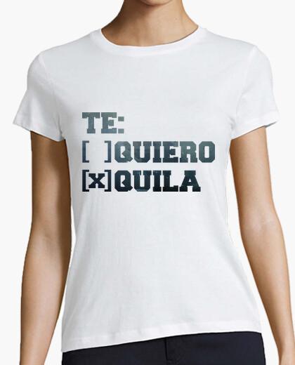 Camiseta TE QUIERO TEQUILA chicas
