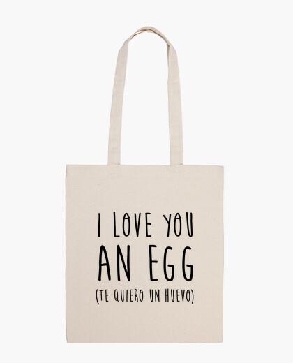 Te quiero un huevo (bolsa)