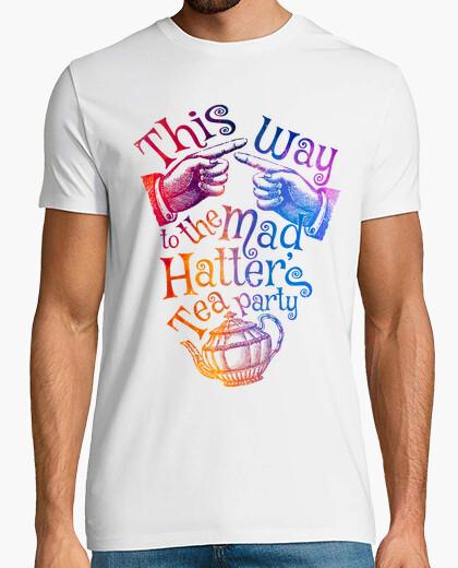 Tea party - rainbow t-shirt