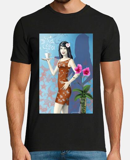 Tea Room Girl-Camiseta