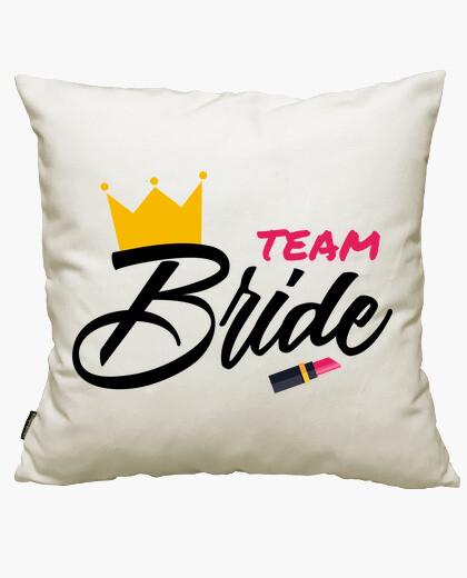 Funda cojín Team Bride