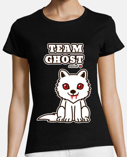 Team Ghost. camiseta chica