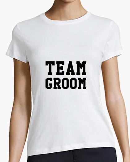Tee-shirt Team Groom / Mariage