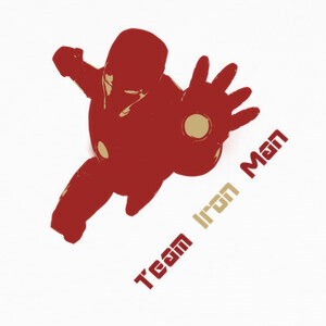 Camisetas Team Iron Man