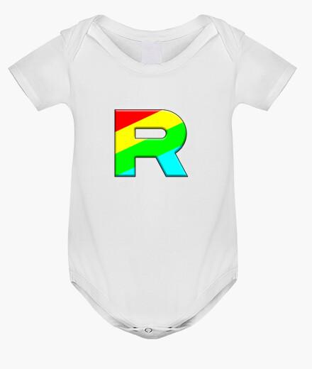 Ropa infantil Team Rocket Rainbow