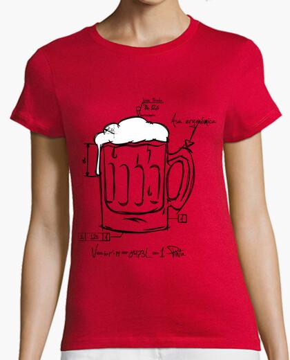 Technical beer t-shirt